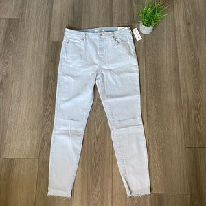 PacSun High Rise Jeggings In Stone Bleach Size 30